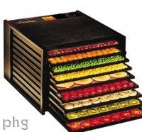 Dream Dehydrator! Excalibur™ Dehydrator Model 3900 Dehydrator in Black or White Cabinet
