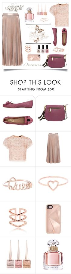 """""""Skirt...."""" by puljarevic ❤ liked on Polyvore featuring Salvatore Ferragamo, Marc Jacobs, Needle & Thread, A.L.C., Victoria's Secret, Love Is, Rebecca Minkoff, Christian Louboutin, Guerlain and skirt"""