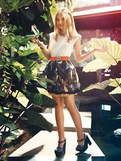 dakota fanning teen vogue photoshoot | Dakota Fanning Teen Vogue December 2009