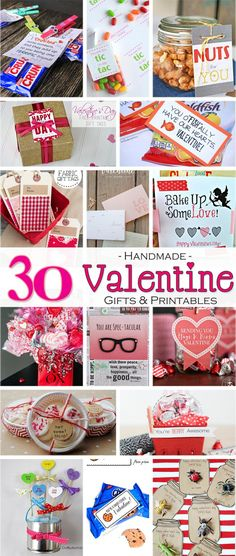 15 No Candy Valentines {Free Printables