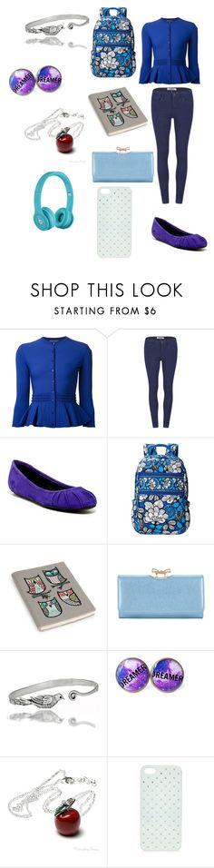 """Creepypasta: What Lulu would wear to school"" by ender1027 ❤ liked on Polyvore featuring Alexander McQueen, ONLY, Nine West, Vera Bradley, Ted Baker and Once Upon a Time"