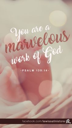 Thank you for making me so wonderfully complex!     Your workmanship is marvelous—how well I know it. -Psalm 139:14  Postcard available at https://www.zazzle.com/psalm_139_14_you_are_marvelous_work_of_god_postcard-239881810071203201  #postcard #poster #marvelous #wonderful #beautiful #Psalm #Jesus #Christ #workmanship #complex #craft #creator