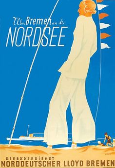 NDL - In the North Sea over Bremen (1934) by Susanlenox, via Flickr
