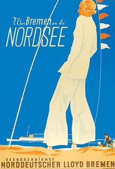 NDL - In the North Sea over Bremen (1934) by Susanlenox, via Flickr