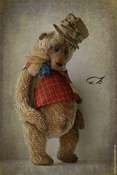 Купить Бенедикт - тедди, мишка, медведь, сказочник, авторский, коллекционный, кашина, мохер, опилки