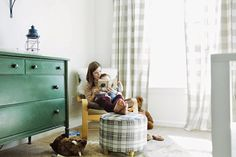 Harry's Vintage Eclectic Nursery By Christy Nicole Photography/Fawn Over Baby