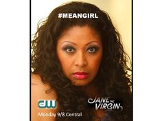 I'm on #JaneTheVirgin Monday! 9/8 C on the CW