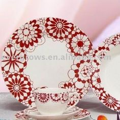dinnerware by margery