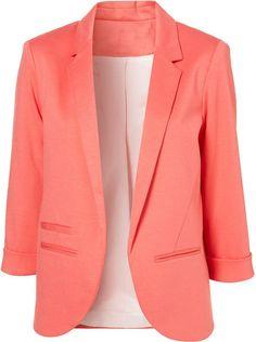 Pink Blazer - should be a staple