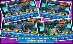 Motor bike spa salon is fun addictive game for all young boys and girls. Boys love riding bikes like dirt bikes, sports bikes, heavy bikes, mountain bikes, chopper and trail bikes they love all. The heavy engine roaring sounds, custom made body and colorful shiny look men crazy for these fast and furious ride. Boys love to drive it fast on freeway and city traffic to show their driving skills. They like to get dirty in tuning engine washing and rinse the motorbike from outside. Using wax…