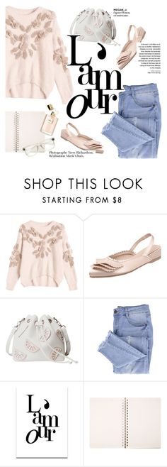 """""""pastel outfit"""" by punnky ❤ liked on Polyvore featuring Essie and SS Print Shop"""