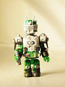 Medicom Toy KUBRICK Kamen Rider Ryuki Dragon Knight Zolda Green Color figure