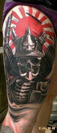 Skull Samurai Tattoo – Best tattoos, best tattoo artists