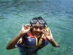 Snorkling with Jelly fish