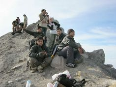 Puncak Gunung Merapi