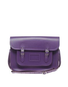 Cambridge satchel from Asos. I love purple.