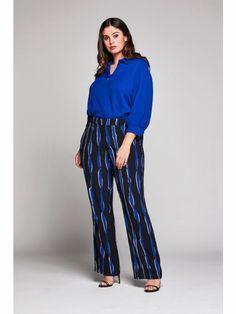 Kobalt, Striped Pants, Html, Fashion, Moda, Stripped Pants, La Mode, Striped Shorts, Fasion