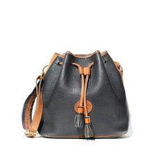 sac de seau en cuir Vintage DOONEY et BOURKE par santokivintage daf896ceee1