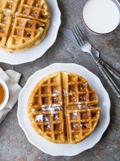 Looking for a great homemade waffle batter recipe? Stop because this is the recipe for you and your family.