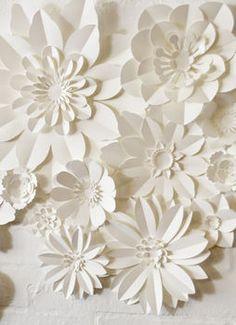 Set Of 22 Handmade Paper Flowers