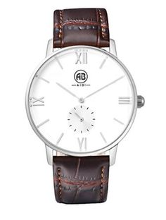The Crown - Rose Gold - Dark brown wristband Rose Gold Lights, Packers And Movers, Beautiful Watches, Kids And Parenting, Cool Stuff, Stuff To Buy, Watches For Men, Projects To Try, Places To Visit