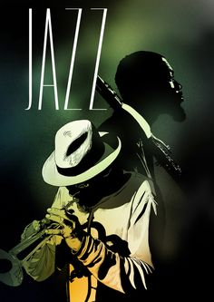 Jazz poster - such a jazzy typo
