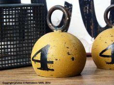 Poids jaune Athezza chez L'intention décoration