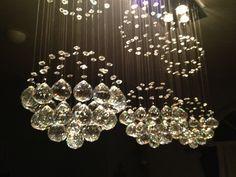 rain drop chandelier