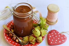 Homemade hazelnut cream in mug, Food And Drinks, Homemade is the real . Healthy Baking, Healthy Snacks, Food Crafts, Desert Recipes, Good Food, Food Porn, Cooking Recipes, Tasty, Favorite Recipes