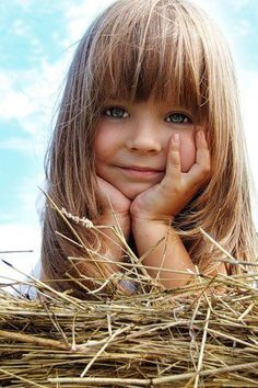 I don't know who this little girl is, but she is adorable!