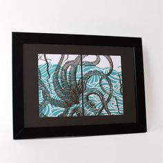 Postkartenset «Oktopus No. 1» by Bon Matin