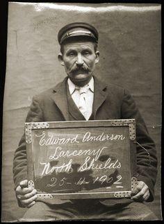 Mug Shot True Crime Police Photo** Radient **vintage 1923 Bureau Of Identification