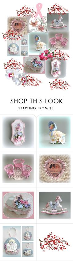 """""""Romantic Susanne"""" by anna-recycle ❤ liked on Polyvore featuring interior, interiors, interior design, home, home decor, interior decorating, Brewster Home Fashions and vintage"""