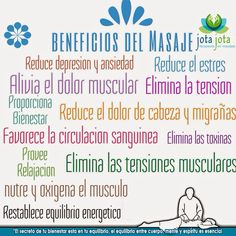 beneficios del masaje de relajacion - Buscar con Google Massage Therapy, Facial, Relax, Yoga, Health, Tips, Mantra, Nutrition, Gym