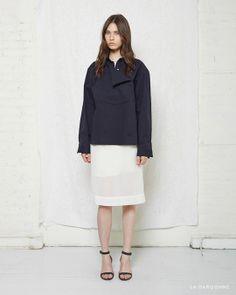 La Garçonne Moderne / Uniforme Shirt La Garçonne Moderne / Farrow Organza Dress