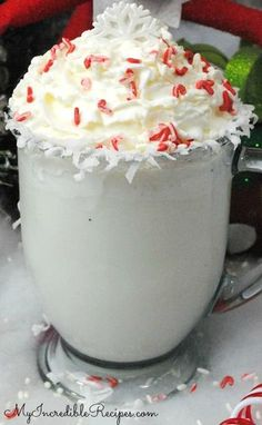 Crock Pot White Hot Chocolate!