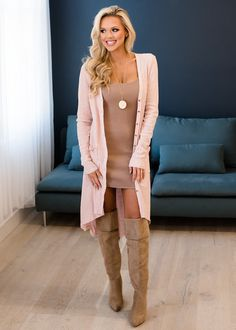 Cardigan, Pink Cardigan, Long sleeve Cardigan, Button Up cardigan, Cute, Fashion, Online Boutique