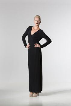 The @ sallyannproven Jersey Wrap Dress http://spencerclothing.com