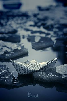 Paper Boats by Victor Eredel, via Behance