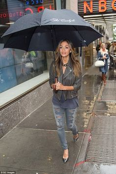 Too big for that nonsense! Nicole Scherzinger appeared to be taking it all in a stride as she stepped out in New York on Friday