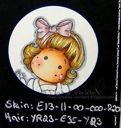 DeeDee´s Card Art: ♥ Tutorial: Skin Tones for Copic Marker Europe Blog ♥