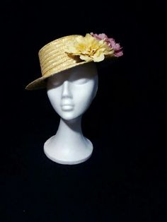 Canotier con flores by Sinamay @imazon