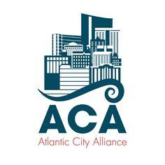 Atlantic City Alliance Logo // ACA, AC, Atlantic, City, Boardwalk, Casinos, Ocean, Wave