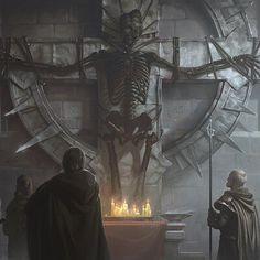 Likes, 2 Comments - Concept art Pathfinder Rpg, Fantasy World, Creepy, Concept Art, Scenery, Sci Fi, Horror, Illustration Art, Creatures