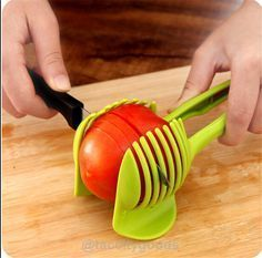 The Perfect Vegetable Slicer is great for slicing lemons, potatoes, tomatoes. You can quickly slice lemon for your beverages, make home made potato chips or au gratin potatoes and perfectly sliced tom