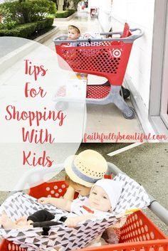 My 3 best tips for shopping with little kids featuring Groupon! #GrouponCoupons…