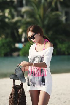 LOVELY print tee [itsmestyle ranking 145th]