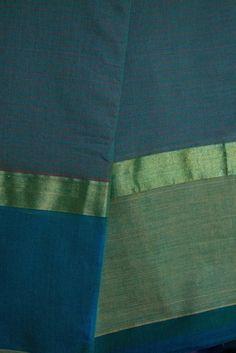 Emerald Green Light Brown Dhoop Chaav Saree