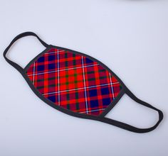 non medical face covering with Cameron of Lochiel printed tartan - only from ScotClans