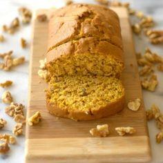Pumpkin Pie-Spiced Pumpkin Bread with Walnuts